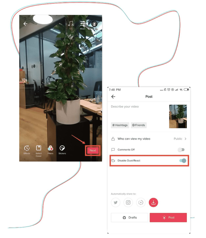 Cek-Hasil-Duet-Editing-Privacy-dan-Posting
