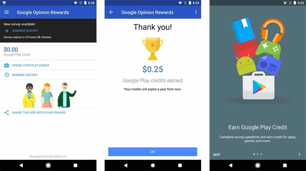 Google-Opinion-Reward