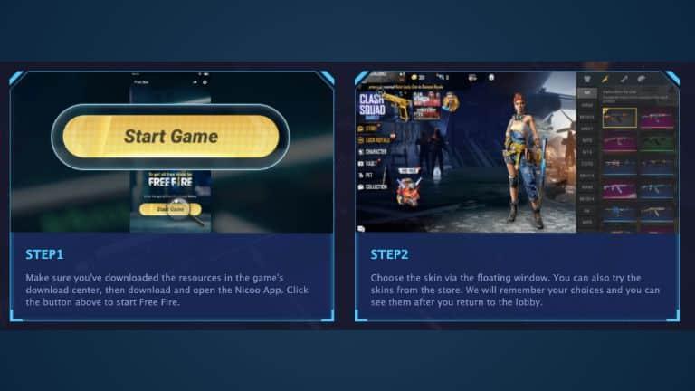 Selanjutnya-Anda-akan-diarahkan-untuk-masuk-ke-game-Free-Fire-dengan-mengklik-start-yang-tertera-di-layar