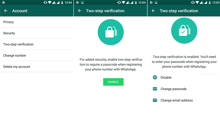 Two-step-verification