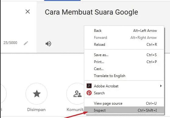 Klik-kanan-yang-ada-di-bagian-Google-Translate-lalu-Anda-bisa-pilih-opsi-Inspect
