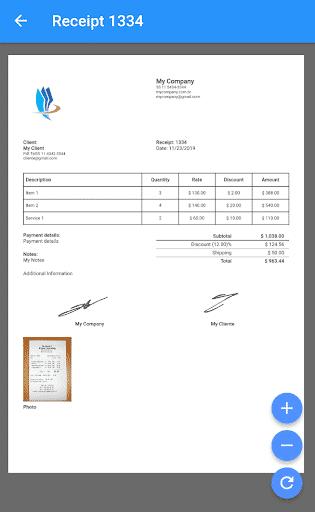 Receipt-Invoice