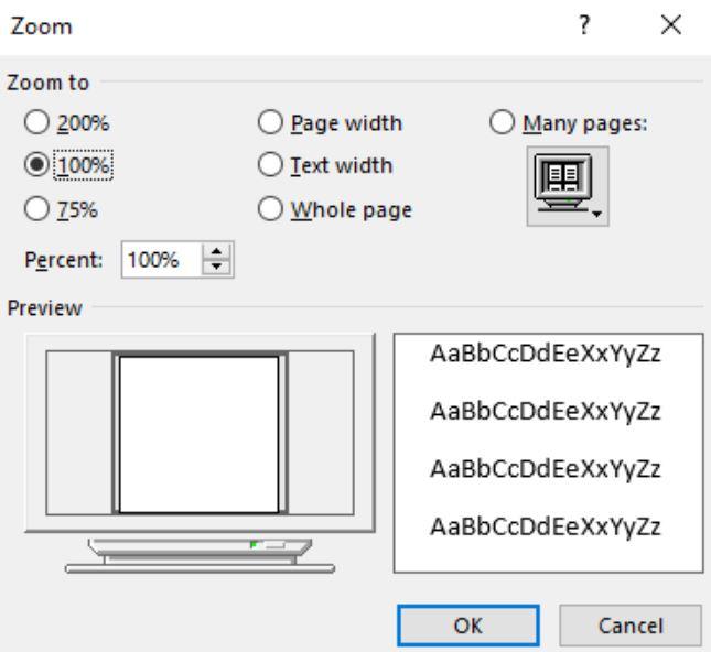 Setelah-kotak-dialog-Zoom-terlihat-pilih-Many-Pages-dan-pilih-ikon-monitor-yang-ada-di-bagian-bawah